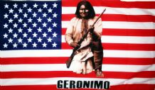 USA GERONIMO - 5 X 3 FLAG